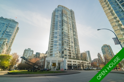 Yaletown Apartment for sale: The Peninsula 1 bedroom 761 sq.ft. (Listed 2018-04-23)